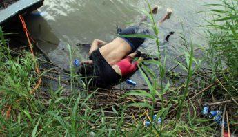 Migrantes ahogados