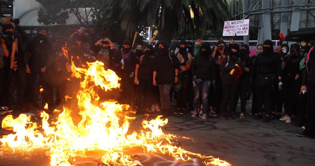 Colectivos feministas convocan a marcha, piden usar el hashtag #TerremotoFeminista