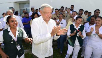 AMLO medicinas Campeche