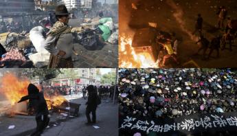 Protestas sociales