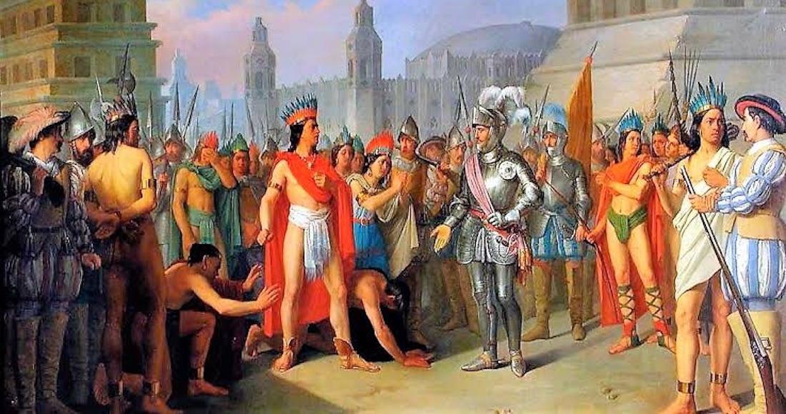 Resultado de imagen para Descendientes de Moctezuma y Cortés