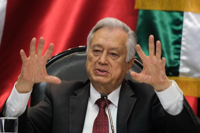 Manuel Bartlett, aliado de AMLO. Foto: Cuartoscuro