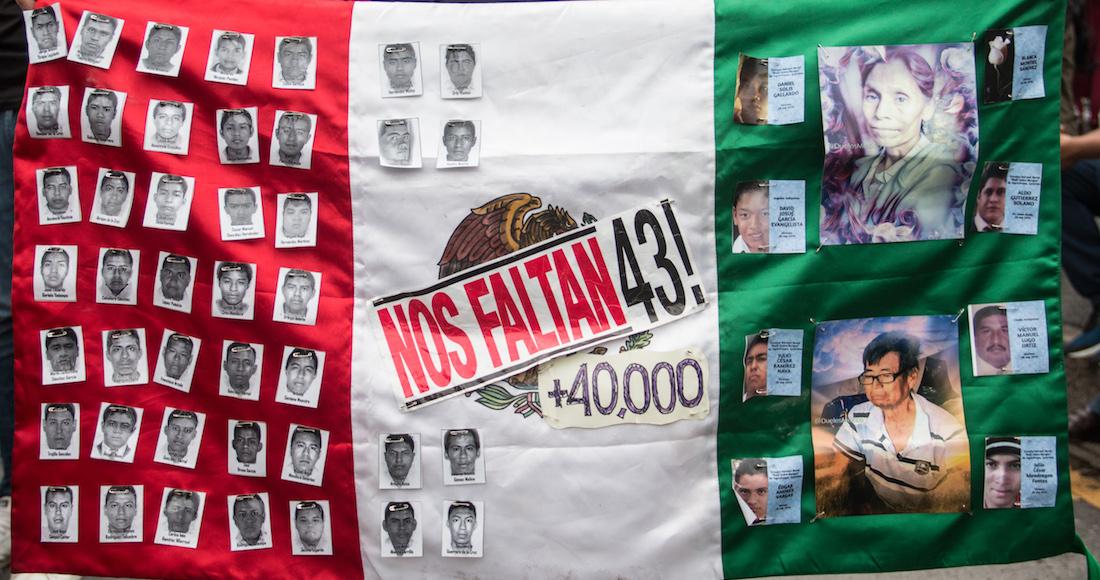 Un poco de esperanza, Vocero de los padres de los 43 dice que hallaron restos de 7 personas