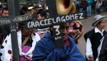 Aniversario 22 matanza de Acteal
