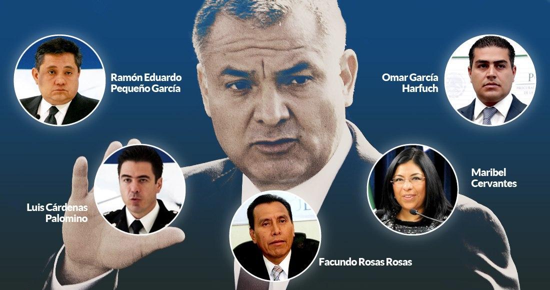 Los hombres y mujeres cercanos a García Luna están o escondidos, o ...