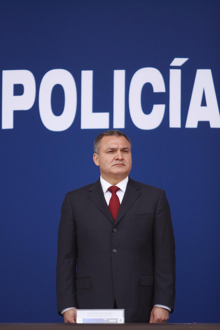 Genaro García Luna, Secretario de Seguridad Pública de Felipe Calderón. Foto: Iván Stephens, Cuartoscuro