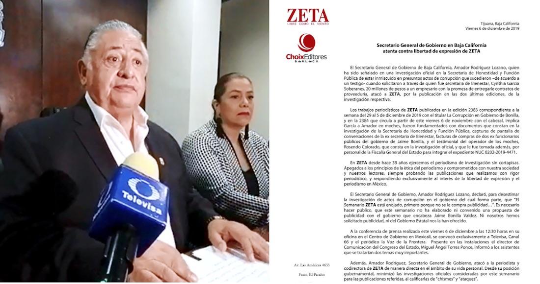 Resultado de imagen para PIDE DISCULPAS AMADOR RODRIGUEZ LOZANO