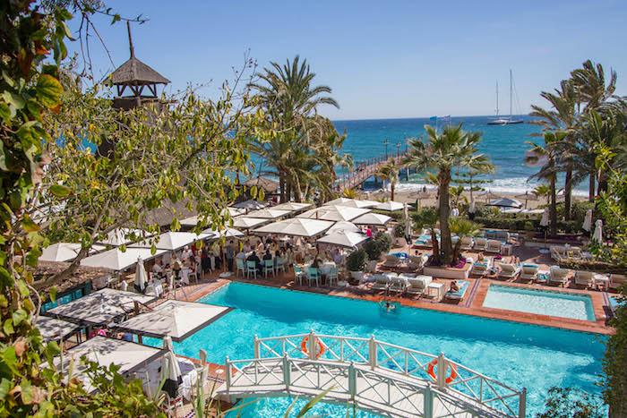 Albercas y playa, así es la lujosa urbanización. Foto: La Zagaleta