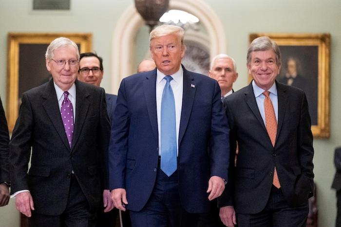El Presidente de Estados Unidos, Donald Trump. Foto: EFE/EPA/JIM LO SCALZO