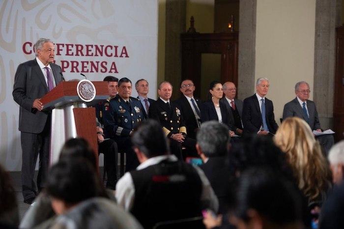 En la conferencia de prensa, se dieron detalles del avance del brote de coronavirus en México. Foto: Gobierno de México