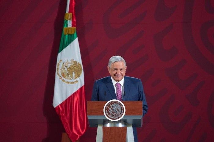 Andrés Manuel López Obrador, Presidente de México, en su tradicional encuentro matutino con la prensa. Foto: Gobierno de México