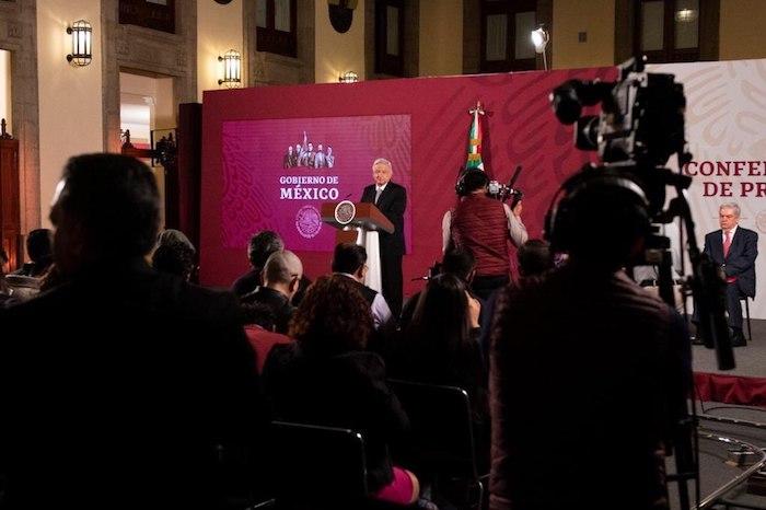 AMLO respondió los cuestionamientos de la prensa este miércoles. Foto: Gobierno de México