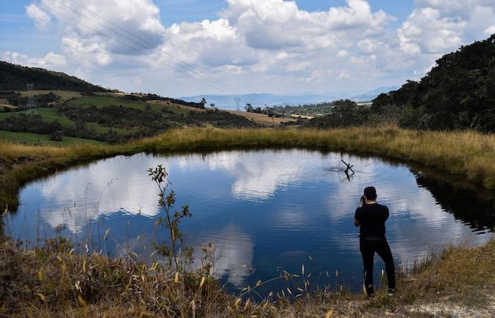 Los primeros procesos son lentos como la desertificación, escasez de agua, deforestación, deterioro de suelos y agua. Foto: Camilo García, EFE