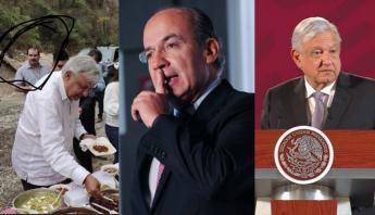 AMLO sugiere a Calderón que se disculpe y pide tregua
