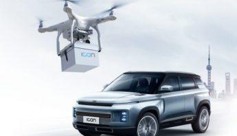 autos a domicilio dron covid