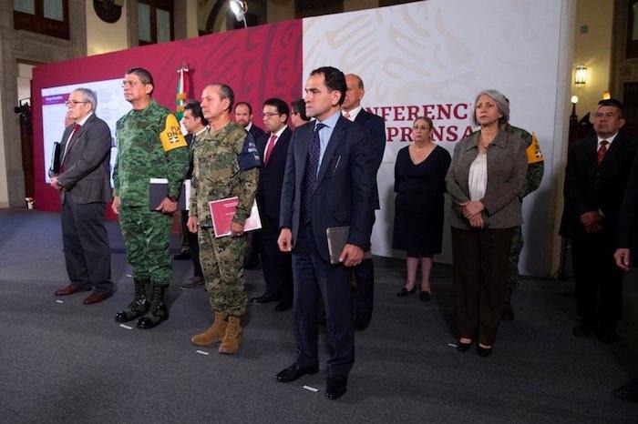 El Secretario de Hacienda durante la conferencia matutina. Foto: Gobierno de México.