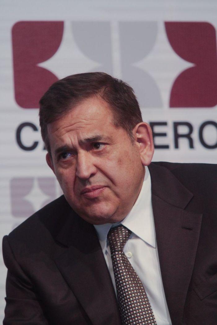 Alonso Ancira, propietario de Altos Hornos de México (AHMSA). Foto: Juan Pablo Zamora, Cuartoscuro