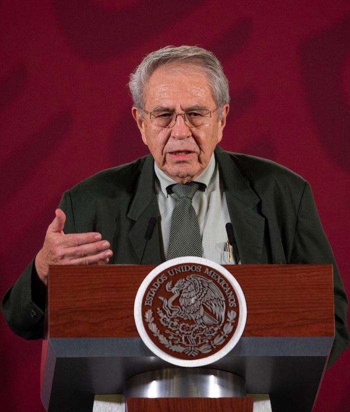 Jorge Alcocer Varela, titular de la Secretaría de Salud (Ssa). Foto: Gobierno de México