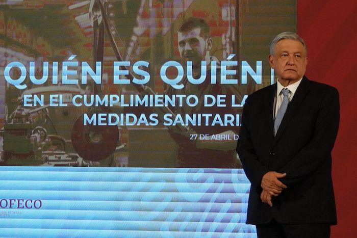 Andrés Manuel López Obrador, Presidente de México, encabezó la conferencia matutina en Palacio Nacional.