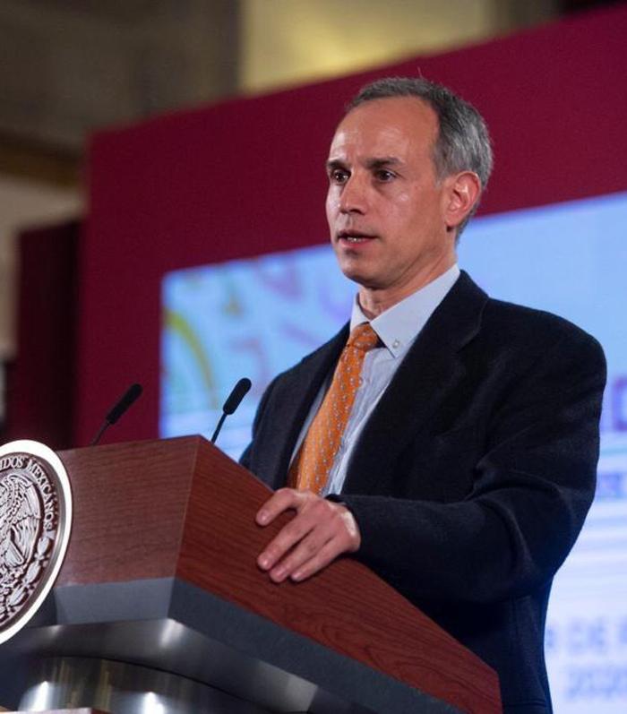 El Subsecretario de Salud dio a conocer el caso. Foto: Gobierno de México