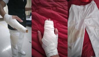 Una enfermera de SLP acusa ataque de madre e hijos