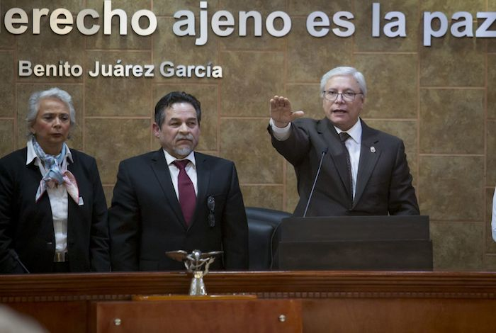 El pasado 1 de noviembre de 2019, Jaime Bonilla Valdez tomó protesta como Gobernador Constitucional de Baja California en la Sala del pleno del Congreso del estado.