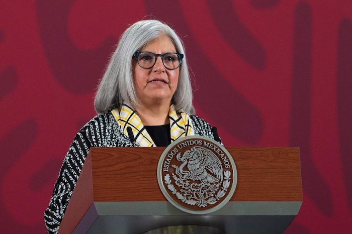 Graciela Márquez Colín, Secretaría de Economía, en Palacio Nacional.