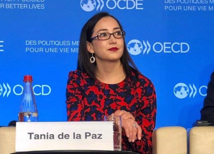 La carrera de Tania de la Paz se forjó en la academia y el INAI y antes de dar el salto a una Subsecretaría en la Función Pública, estuvo dos años en el despacho Vázquez Nava y Consultores.