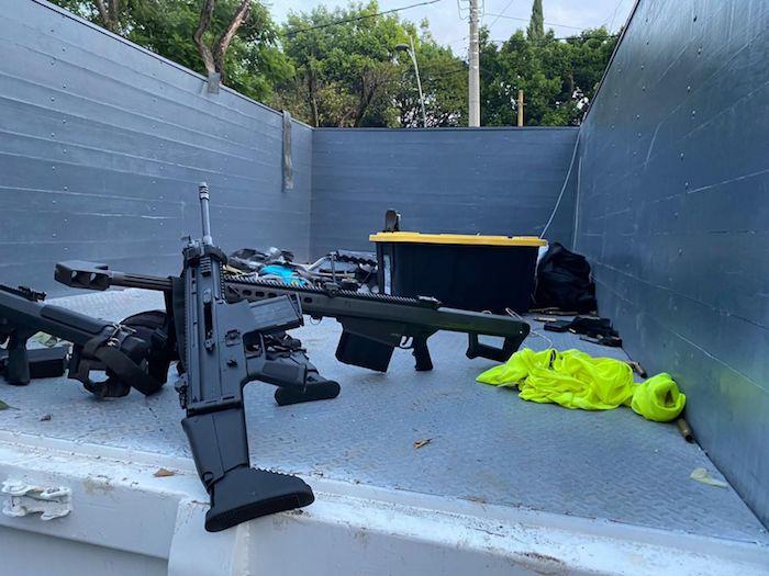En el ataque contra el funcionario se utilizaron armas de grueso calibre.