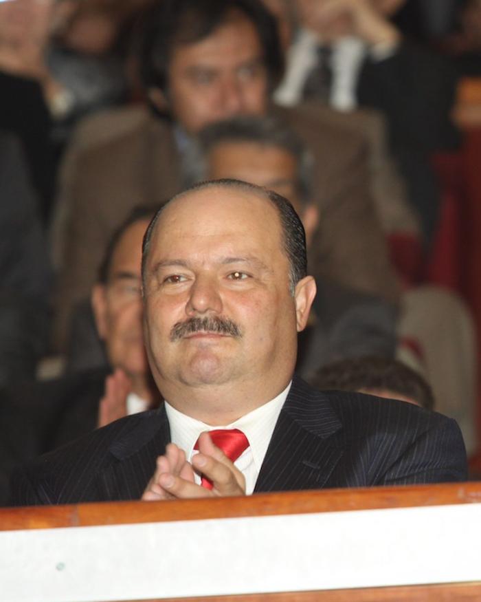 César Duarte fue detenido en Estados Unidos.