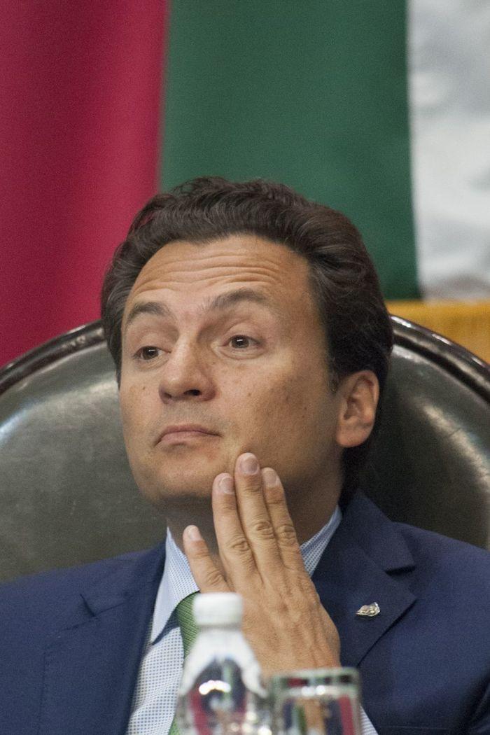 En 2014, Emilio Lozoya en la Cámara de Diputados.