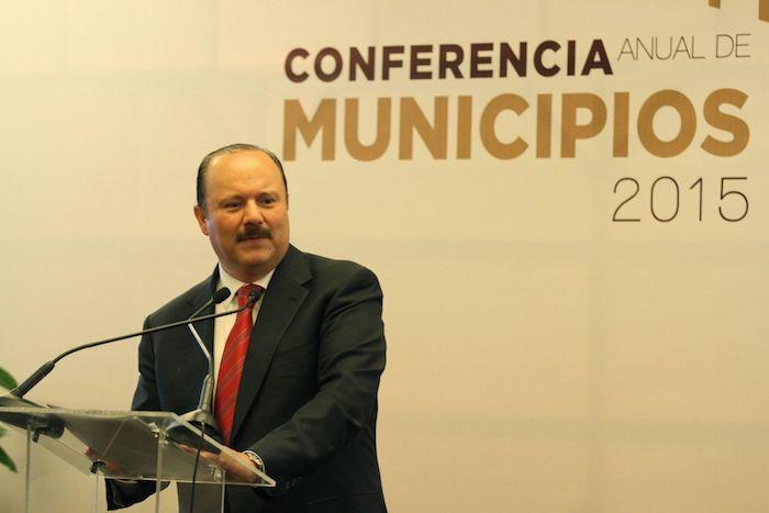 César Duarte, exgobernador de Chihuahua, en 2015.