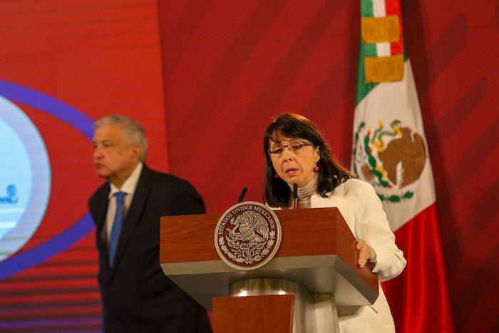 María Elena Álvarez-Buylla, directora general del Conacyt.