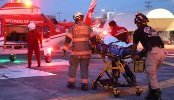 paramédicos helicóptero