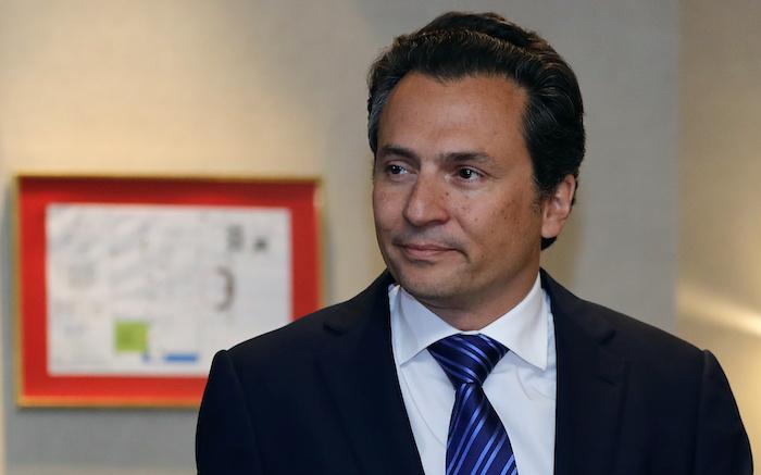 El exdirector de Petróleos Mexicanos (Pemex) Emilio Lozoya.