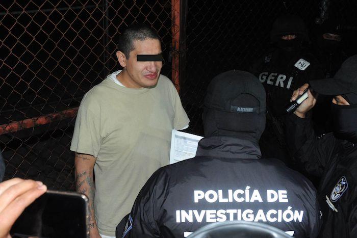 """El pasado 15 de febrero, """"El Lunares"""", líder de la Unión de Tepito, sale libre y es detenido nuevamente, para enfrentar nuevo proceso por delito de homicidio."""