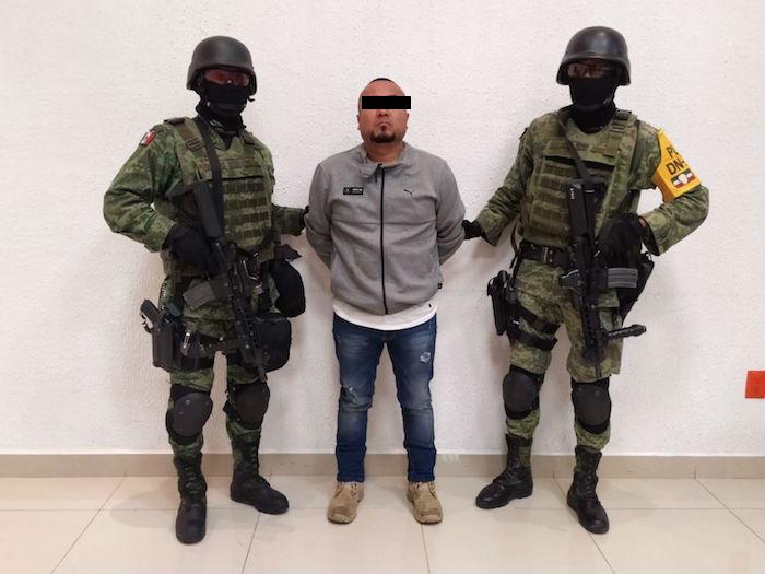"""Detención de """"El Marro""""."""