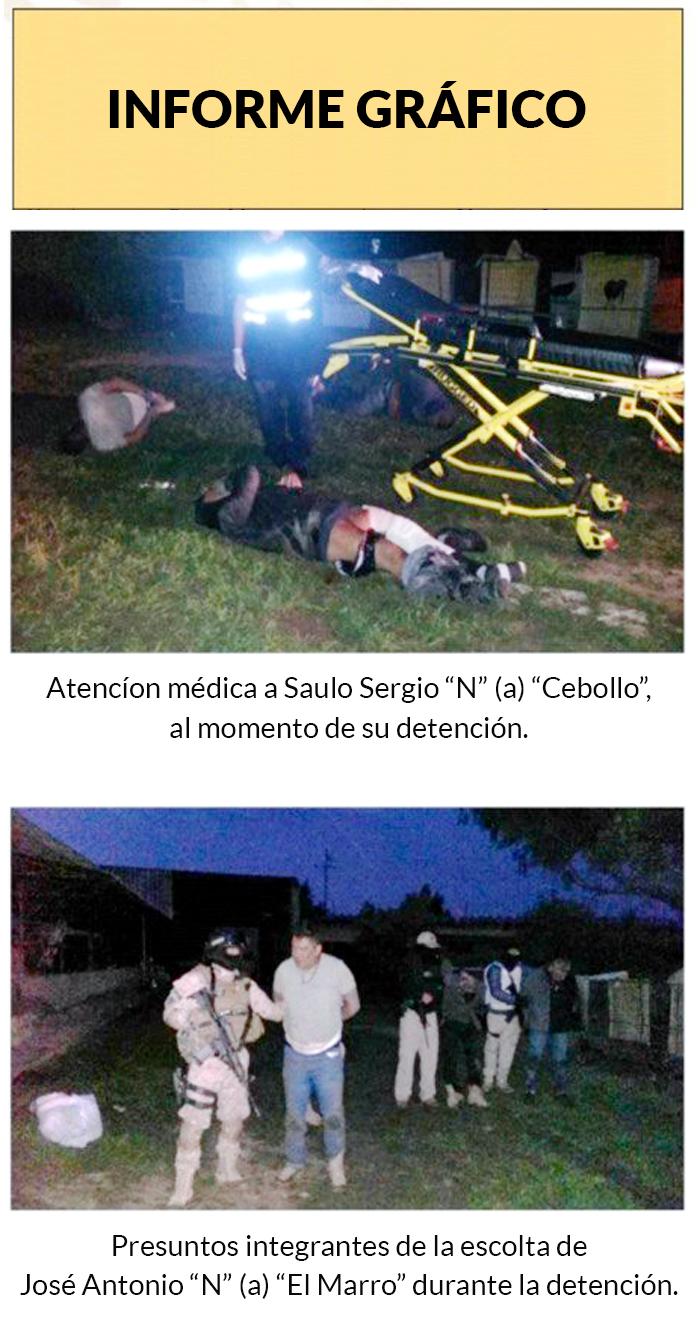 Más detalles gráficos de lo que ocurrió este fin de semana en el operativo de Guanajuato.