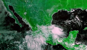 La tormenta tropical Elida provoca lluvias en 4 estados