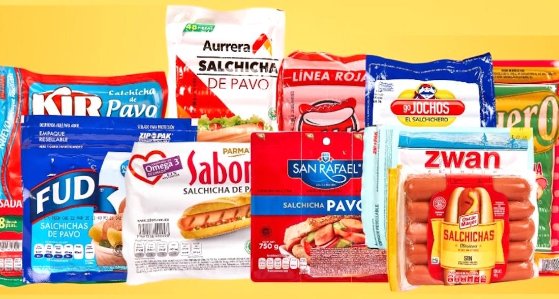 Profeco alerta sobre marcas de salchicha que tienen pollo en lugar de pavo  o más agua que producto   SinEmbargo MX