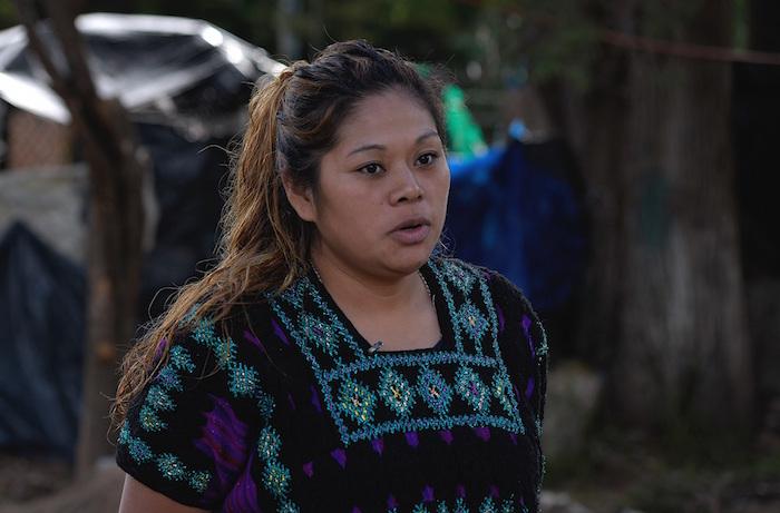 Araceli Cruz habla durante una entrevista con Efe el 8 de agosto de 2020 en San Cristóbal de las Casas en el estado de Chiapas (México).