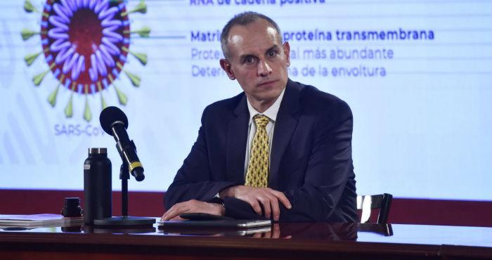 El Subsecretario Hugo López-Gatell.