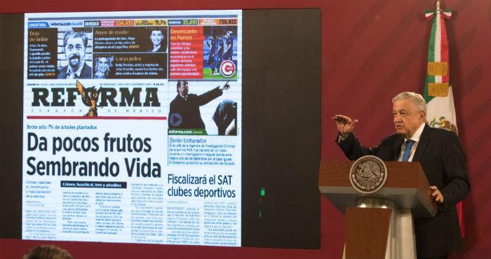 """""""Mientras era oposición, López Obrador quería medios críticos contra el Presidente en turno. Y ahora que es Gobierno, quiere medios a su servicio""""."""