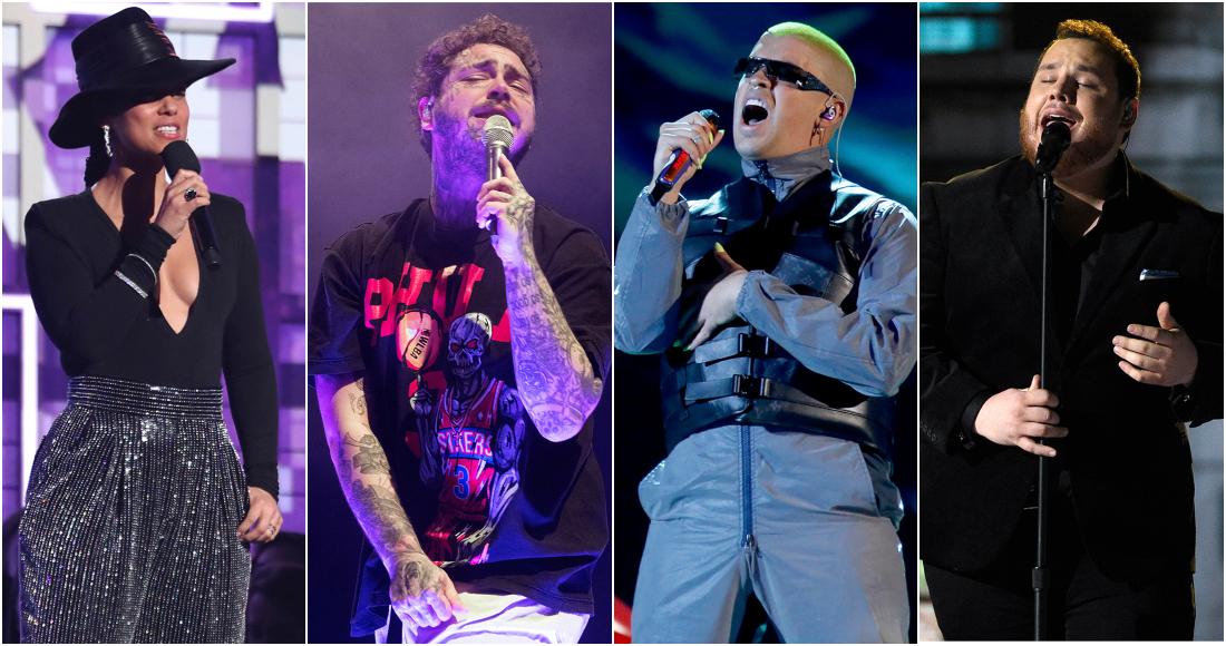 Alicia Keys, Bad Bunny, Luke Combs y el principal nominado, Post Malone,  actuarán en los Billboard | SinEmbargo MX