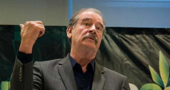 El expresidente Vicente Fox.