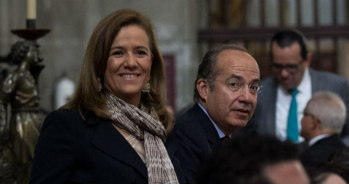 Margarita Zavala y Felipe Calderón.