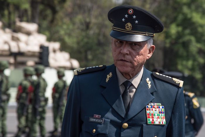Salvador Cienfuegos Zepeda, Secretario de la Defensa Nacional en el Gobierno de Enrique Peña Nieto.