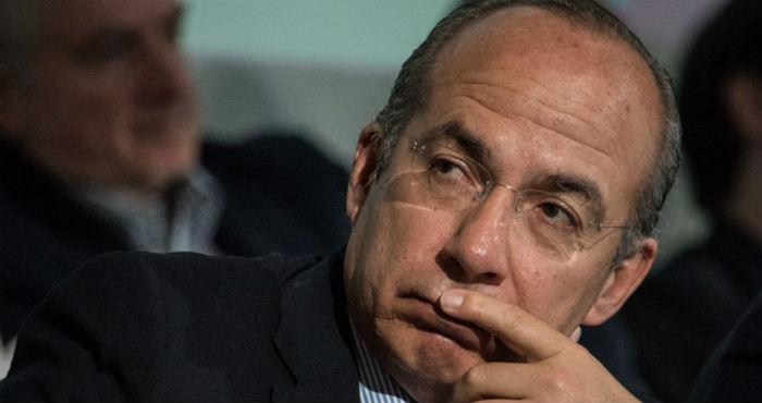 El expresidente Felipe Calderón.