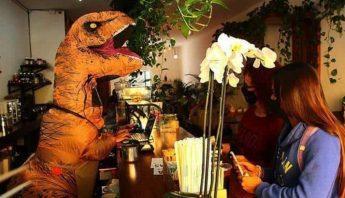 dinosaurio-atiende-cafe